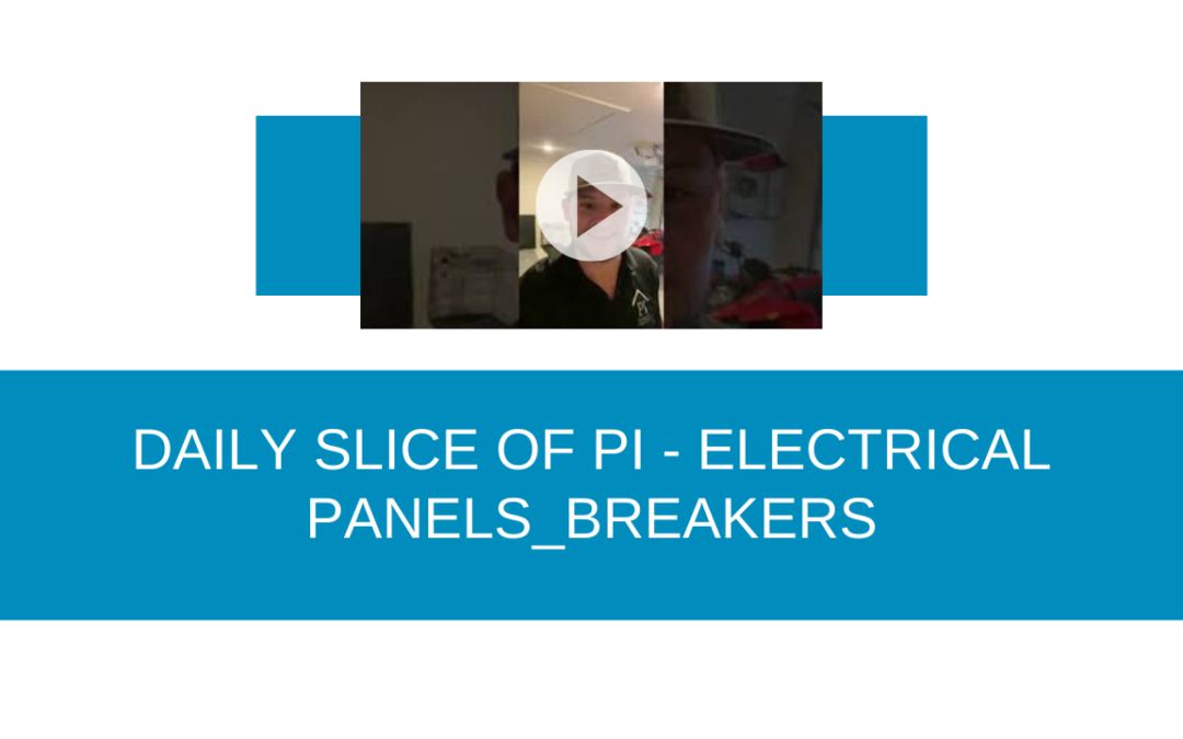 DAILY SLICE OF PI: ELECTRICAL PANEL INSPECTION