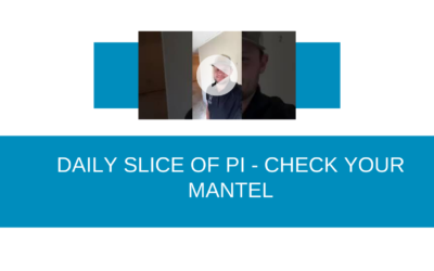 Check Your Fireplace Mantel- Daily Slice of PI